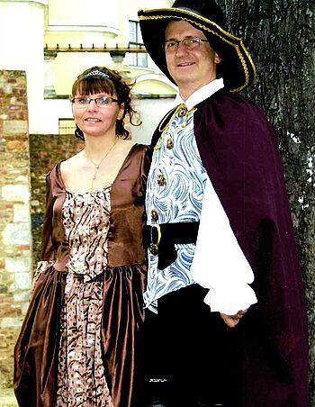 Prinz Mario und seine Prinzessin Ines: 2011 hat das Ehepaar Vietmeyer das Prinzenpaar der Ottojaner Magdeburg dargestellt.