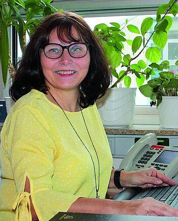 Im beruflichen Leben ist Ines Vietmeyer die Chefarztsekretärin in der Klinik für Frauenheilkunde und Geburtshilfe am Klinikum Magdeburg.